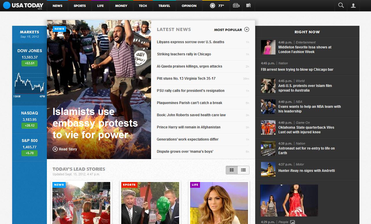 El nuevo USA Today