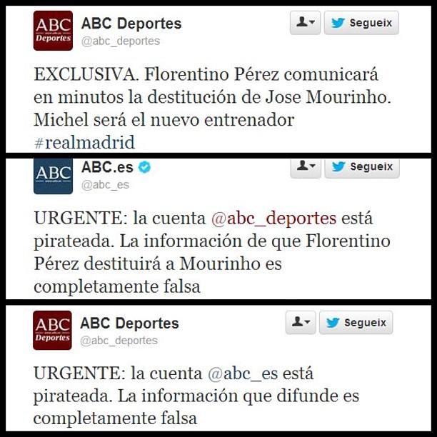Cuentas de ABC Deportes y ABC