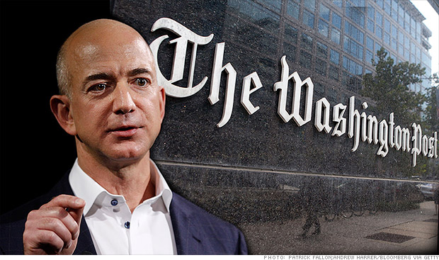 Jeff Bezos and The Washintgon Post
